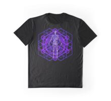 Sacred Geometry and the Human Body Graphic T-Shirt