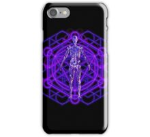 Sacred Geometry and the Human Body iPhone Case/Skin