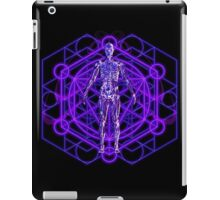 Sacred Geometry and the Human Body iPad Case/Skin