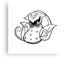 Victreebell de los Muertos   Pokemon & Day of The Dead Mashup Canvas Print