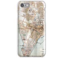 Vintage Map of Halifax Nova Scotia (1890)  iPhone Case/Skin