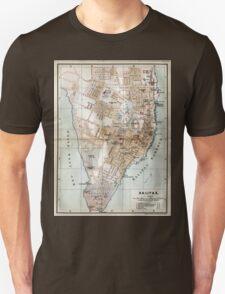 Vintage Map of Halifax Nova Scotia (1890)  T-Shirt