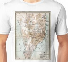 Vintage Map of Halifax Nova Scotia (1890)  Unisex T-Shirt