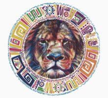lion Mandala Baby Tee