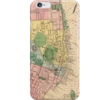 Vintage Map of Halifax Nova Scotia (1878) iPhone Case/Skin