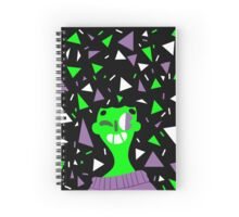 Far Out Triangles! Spiral Notebook