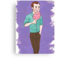 Cotton Candy Babe-O Canvas Print