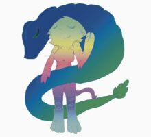 Radioactive Rainbows X Quetzalcoatl One Piece - Long Sleeve