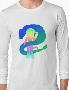 Radioactive Rainbows X Quetzalcoatl Long Sleeve T-Shirt