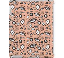 Tribal in Peach iPad Case/Skin
