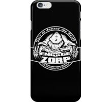 Engage with Zorp Dark iPhone Case/Skin