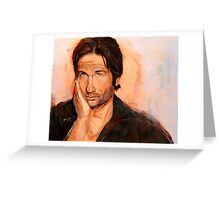 Hank Moody Greeting Card
