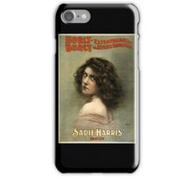 Hurly-Burly Extravaganza and Refined Vaudeville 7 - Courier - 1899 iPhone Case/Skin