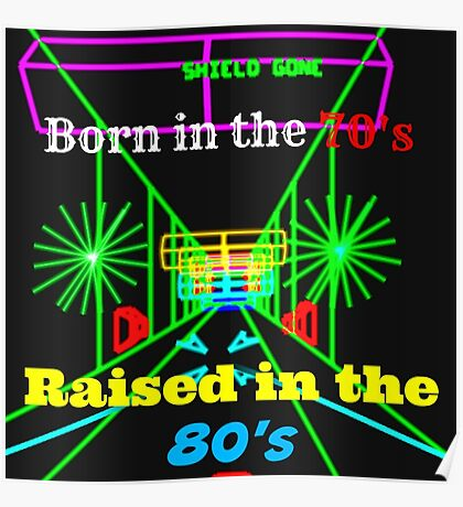 Raised in the 80's Poster