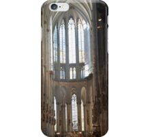 Inside the cologne cathedral iPhone Case/Skin