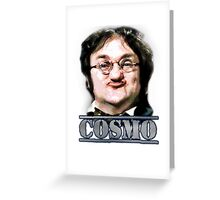 Cosmo Smallpiece - Les Dawson Greeting Card