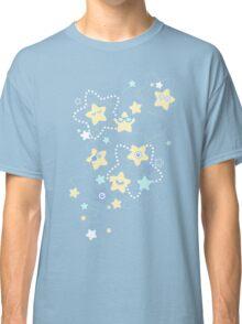 Cute Pastel Night Stars Classic T-Shirt