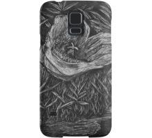 Mariposa Lily Scratch Art Samsung Galaxy Case/Skin