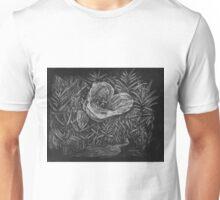 Mariposa Lily Scratch Art Unisex T-Shirt