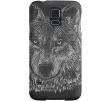 Lone Wolf Scratch Art Samsung Galaxy Case/Skin