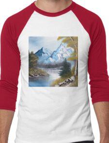 Blue Mountains Men's Baseball ¾ T-Shirt