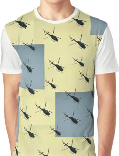 Helifly yellow and grey - Helimosca amarillo y gris Graphic T-Shirt