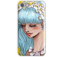Head full of Flowers iPhone Case/Skin
