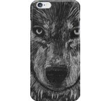 Portrait: Lone Wolf iPhone Case/Skin
