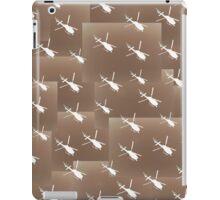 Helifly sepia brown - Helimosca sepia y marron iPad Case/Skin