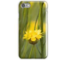 Beautiful yellow flower iPhone Case/Skin