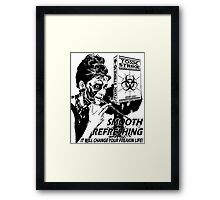 TOXIC STRIKE Framed Print