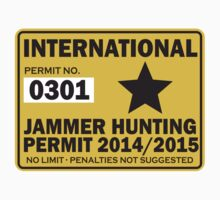 Jammer Hunter Roller Derby Permit by randomkige