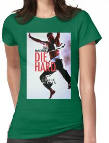 DIE HARD 21 Womens Fitted T-Shirt