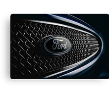 Ford badge from a 2000 Mondeo ST200 Canvas Print