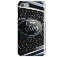 Ford badge from a 2000 Mondeo ST200 iPhone Case/Skin
