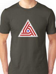 Alien US TriCentennial Flag Patch Unisex T-Shirt
