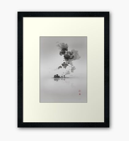 The moment is Now Framed Print
