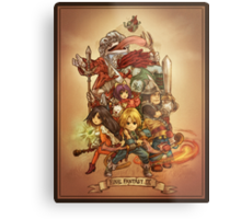 FFIX - Tribute Metal Print