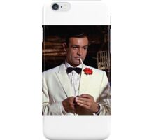 Sean Connery IS James Bond! iPhone Case/Skin