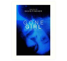 GONE GIRL 6 Art Print