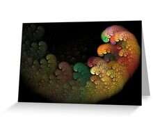 Color Cloud Greeting Card