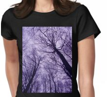 Branches Purple - Ramas Lila Womens Fitted T-Shirt
