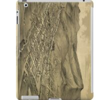 Vintage Pictorial Map of Helena Montana (1875)  iPad Case/Skin