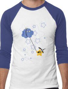 Fantastic Abordage Falling Pirate Star Men's Baseball ¾ T-Shirt