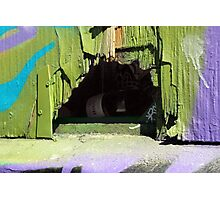 A Private Hole In The Wall Photographic Print