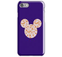 Halloween Spooky Pattern Mouse Silhouette Design iPhone Case/Skin