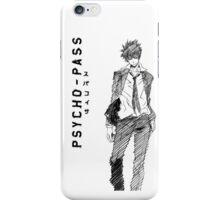 Shinya Kōgami (Psycho-Pass) iPhone Case/Skin
