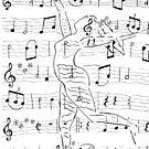 Music Flows through Her.... by Robin Monroe