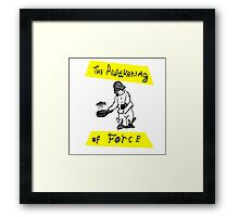 The Awakening Of Force Framed Print