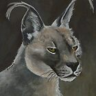Caracal Cat by Margaret Saheed